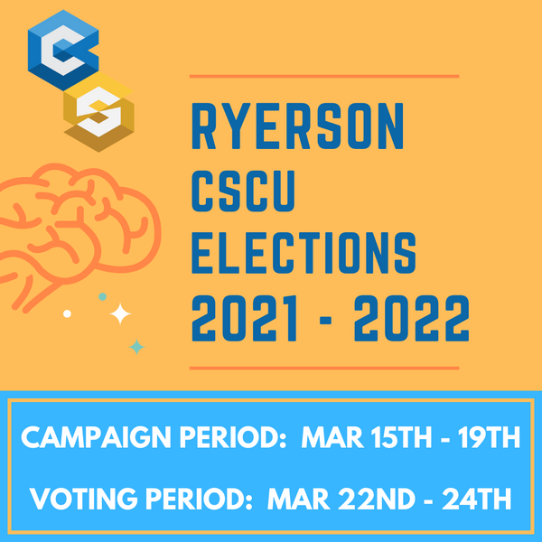 Ryerson CSCU Elections 2021-2022